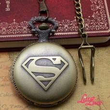 POCKET WATCH CHAIN SUPERMAN
