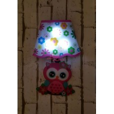 WALL LAMP STICKER OWL