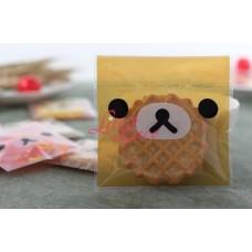 Plastik Cookies 10x10 Brown Bear