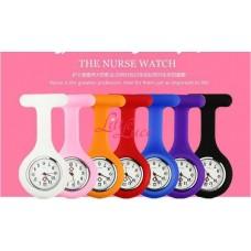 Nurse Watch Silicone Black