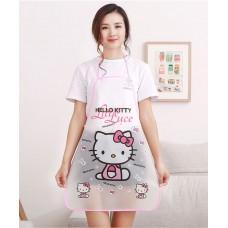 Apron Plastik Hello Kitty
