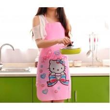 Apron Plastik Hello Kitty Heart