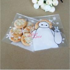 Plastik Cookies 10x10 Baymax