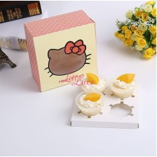 Cake Box Cupcake Hello Kitty