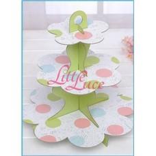 Cupcake Tier Green Dot