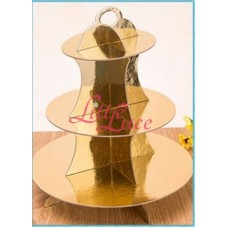 Cupcake Tier Gold