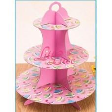 Cupcake Tier Cupcake Pink