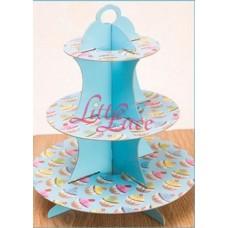 Cupcake Tier Cupcake Blue