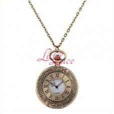 Pocket Watch Vintage Bronze Roman