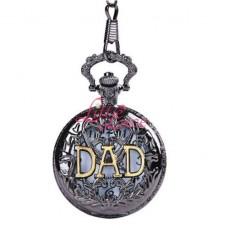 Pocket Watch Chain Dad Black