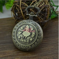 Pocket Watch Alice Cheshire