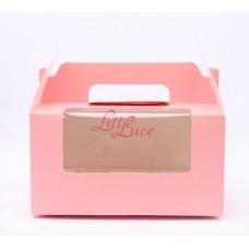 Cupcake Box Isi 2 Plaid Pink