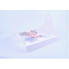 Cupcake Box Isi 4 Plaid White