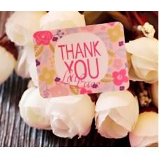 Sticker Thank You Flower