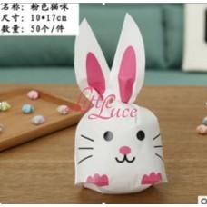 Plastik Kuping Pink Mouse 9x7