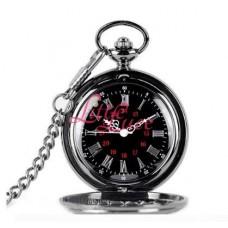 Pocket Watch Classic Black