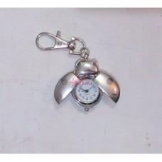 Keyring Watch Silver Bug