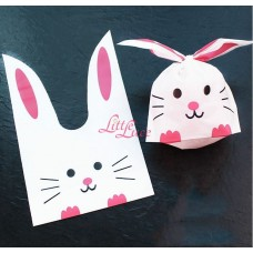 Plastik Kuping Pink Mouse 18x27