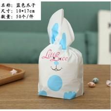 Plastik Kuping Little Rabbit Paw  Blue