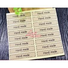 Sticker Simple Handmade