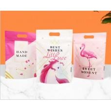 Plastik Cookies Zip Lock Flamingo Fanta