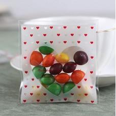 Plastik Cookies 10x10 Love Dots