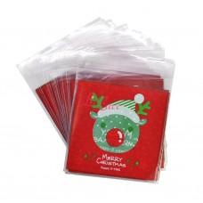 Plastik Cookies 10x10 Christmas Deer