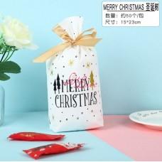 Plastik Cookies Tie White Christmas 14x17