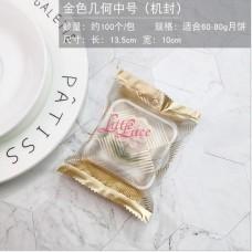 Plastik Cookies Golden Lotus 9x11