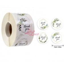 Sticker Roll Thank You 04 Mix