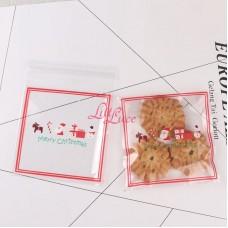 Plastik Cookies 10x10 Christmas Row