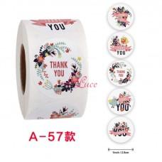 Sticker Roll Thank You 9