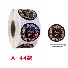 Sticker Roll Thank You 15