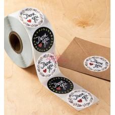 Sticker Roll Thank You 17