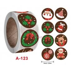 Sticker Roll Christmas1