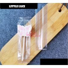 Plastik Cookies 4x14 Glossy Transparant
